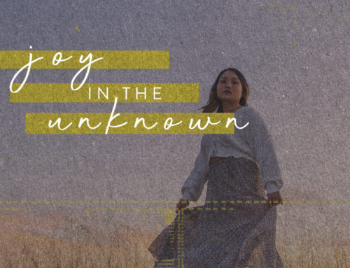 Joy In The Unknown